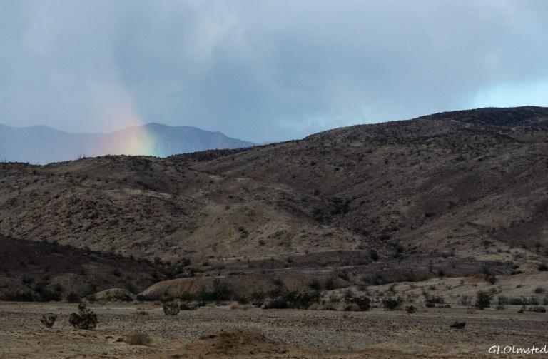 Rainbow Anza-Borrego Desert State Park California