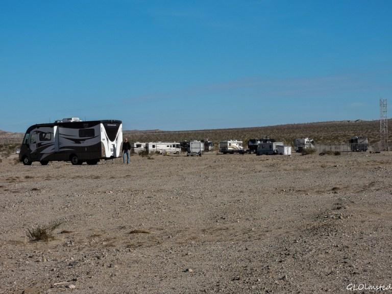 RVs Anza-Borrego Desert State Park California
