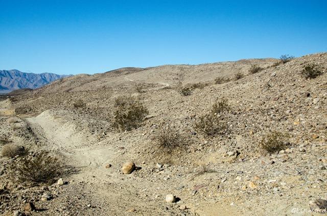 Trail Coyote Mt Peg Leg BLM Anza-Borrego Desert State Park California