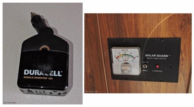 Mobile inverter & Solar regulator & meter