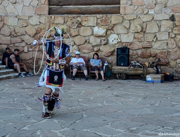 Derek hoop dancing Heritage Days North Rim Grand Canyon National Park Arizona