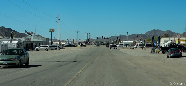 Jct 95 & Tyson Wells Quartzsite Arizona