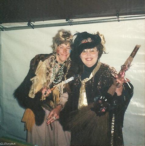 Gaelyn & Toni Halloween at Eagles Cliff Washington