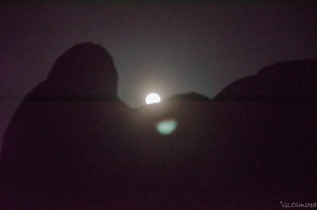Moon Jumbo Rocks Campground Joshua Tree National Park California