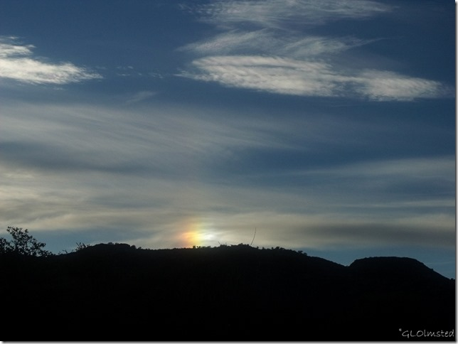 Sundog Yarnell Arizona