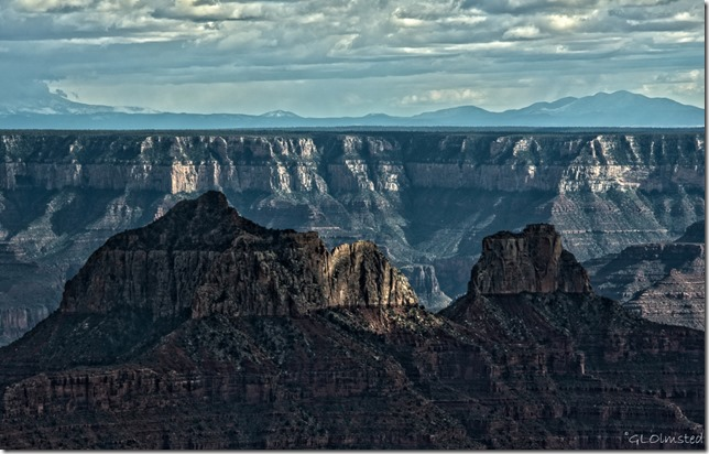 Brahama & Zoroaster temples North Rim Grand Canyon National Park Arizona