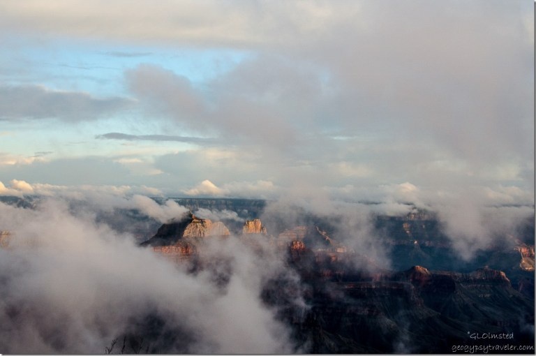 Inversion North Rim Grand Canyon National Park Arizona