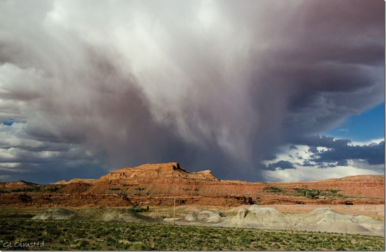 Clouds above Painted Desert SR89 Arizona