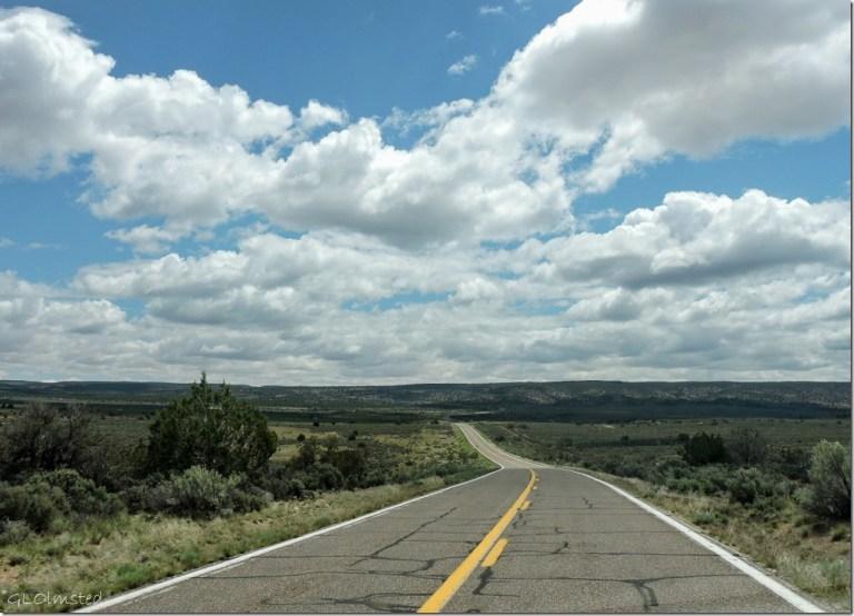 Clouds over Kaibab Plateau SR89A S Arizona