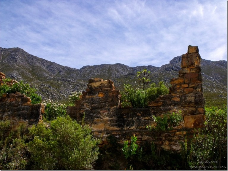 Old tollhouse along Swartberg Pass South Africa