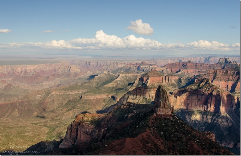 Mt Hayden & beyond from Pt Imperial North Rim Grand Canyon National Park Arizona