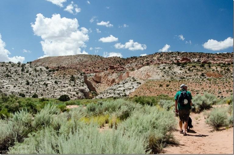 Bill & Sasha Catstair Canyon Grand Staircase-Escalante National Monument Utah