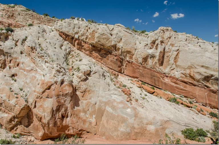 Sandstone layers Catstair Canyon Grand Staircase-Escalante National Monument Utah
