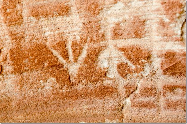 Possible petroglyphs Kanab Utah