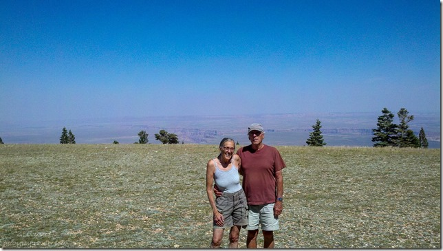 Gaelyn & Bill at Marble View Kaibab National Forest Arizona
