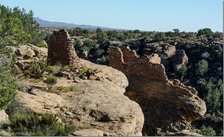Tower & Stronghold Hovenweep National Monument Utah