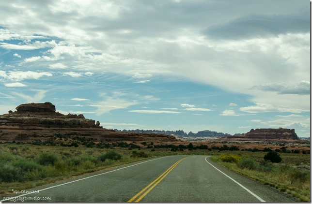 Entering The Needles District Canyonlands National Park Utah
