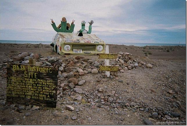 Road to Puerto Cito Baja Mexico