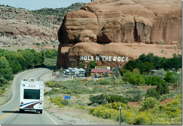 Hole in the Rock US191 Utah
