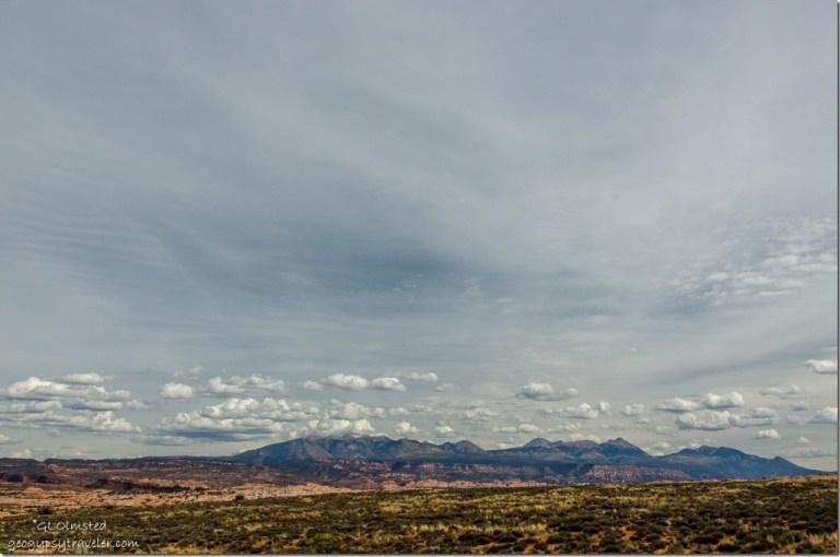 La Sal Mountains Arches National Park Utah