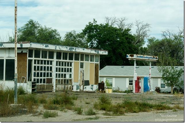 Abandoned fuel station Hanksville Utah