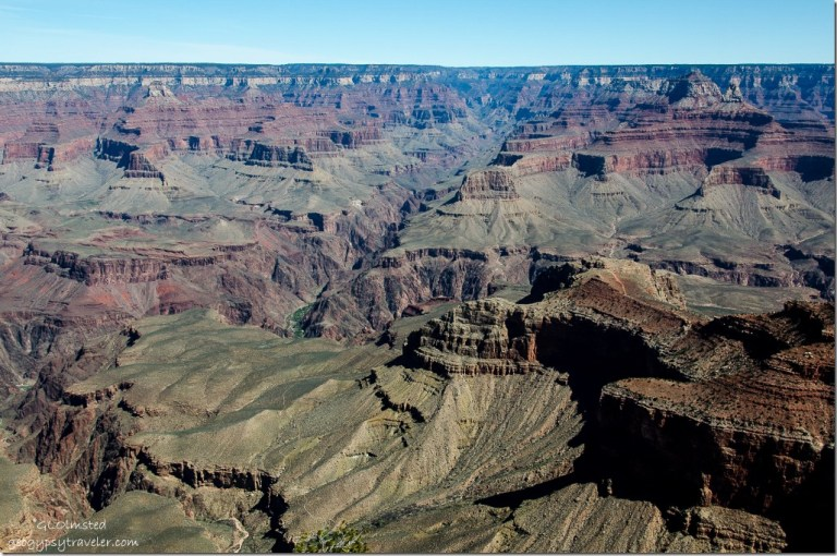 Canyon view from Mather Point South Rim Grand Canyon National Park Arizona