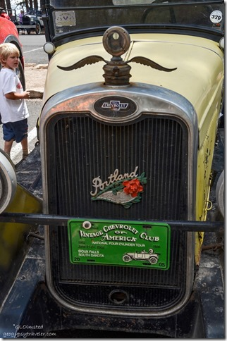Vintage Chevy grill at North Rim Grand Canyon National Park Arizona