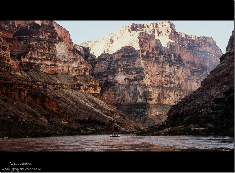Rafting Colorado River Grand Canyon National Park Arizona
