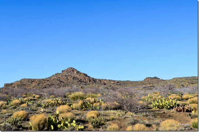 View NW from Deer Creek Road Hillside Arizona