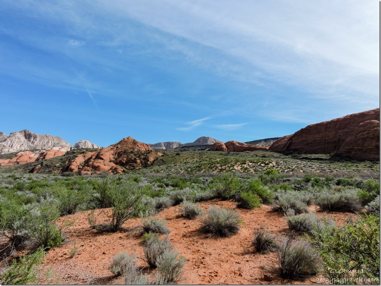 West Canyon Road Snow Canyon State Park Utah