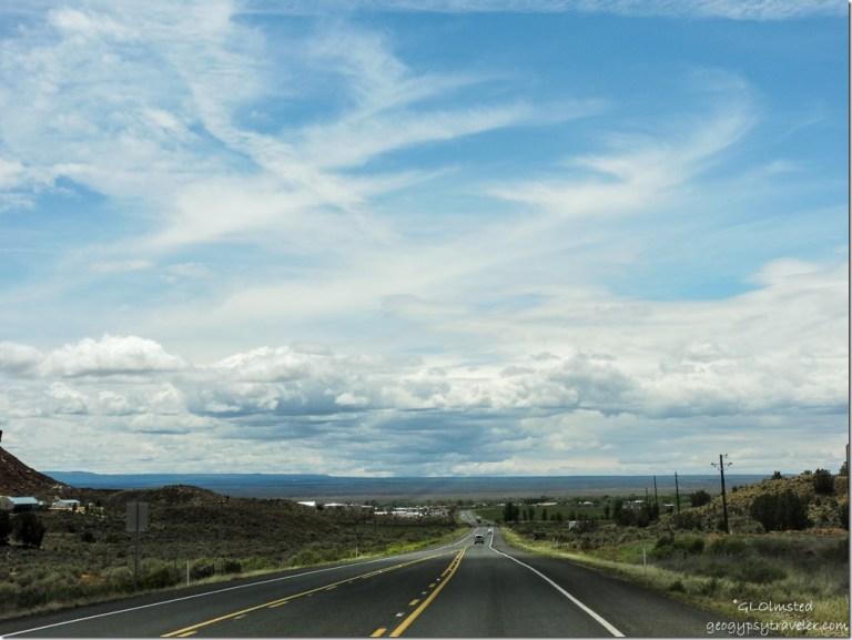Clouds above Kaibab Plateau SR89A South Fredonia Arizona