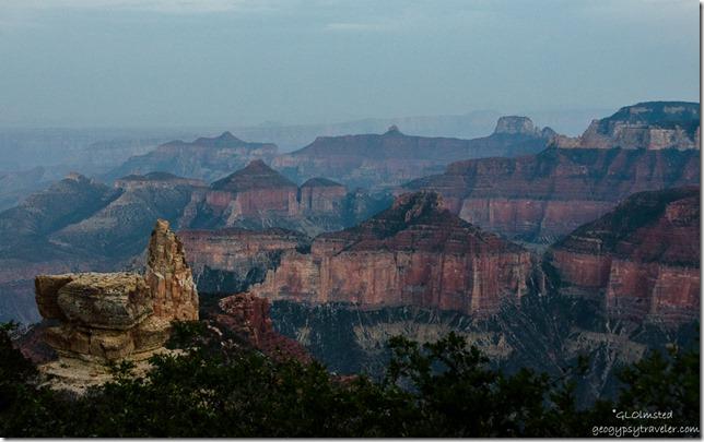Haze Point Imperial North Rim Grand Canyon National Park Arizona