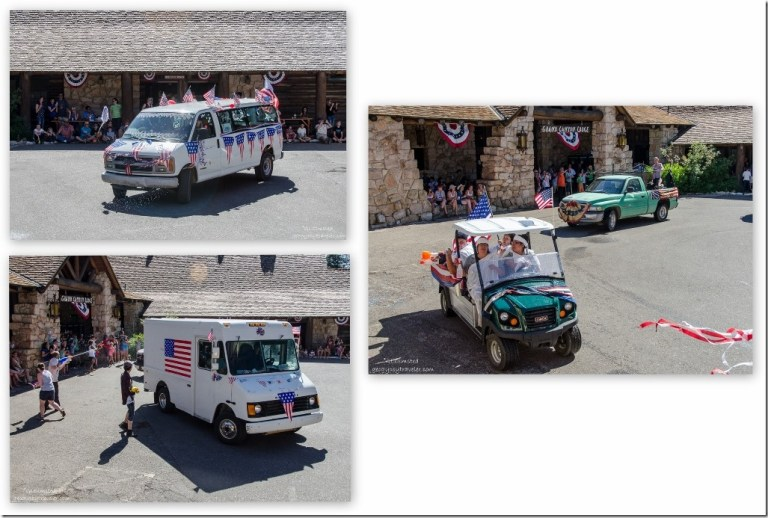 Forever Resorts 4th of July water parade North Rim Grand Canyon National Park Arizona