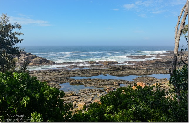 Indian Ocean view Waterfall trail Tsitsikamma National Park South Africa