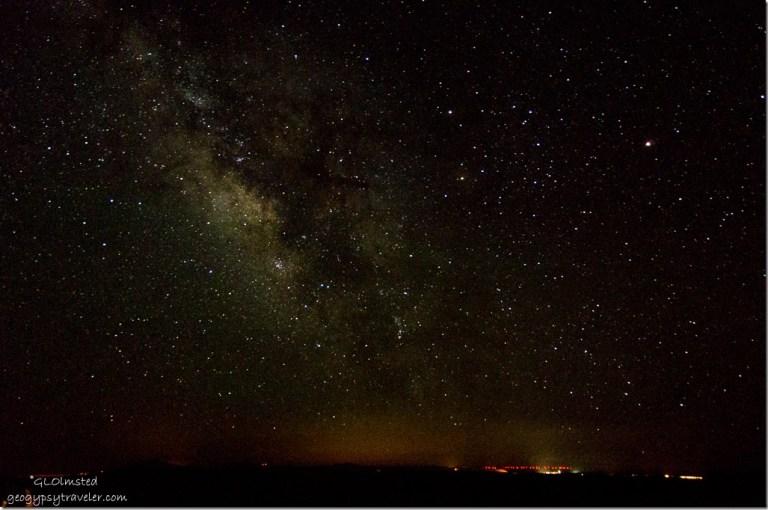Milky Way from Lodge North Rim Grand Canyon National Park Arizona