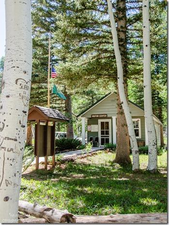Duck Creek Visitor Center Dixie National Forest Utah