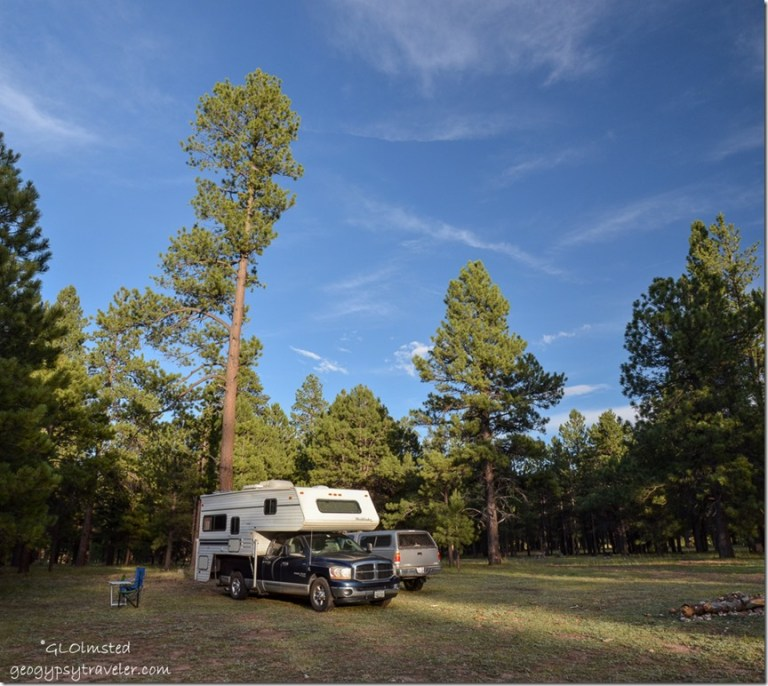 Camp SR212 Mile & a Half Lake Kaibab National Forest Arizona