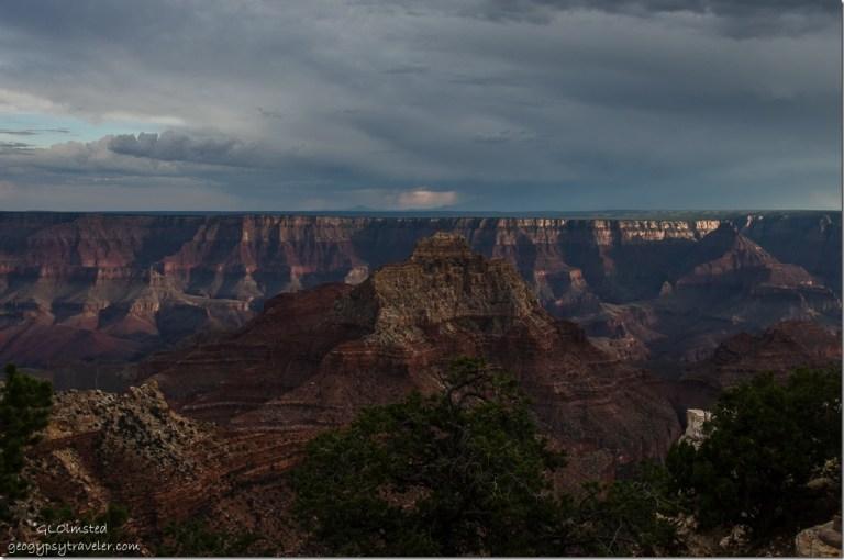 South from Cape Royal North Rim Grand Canyon National Park Arizona