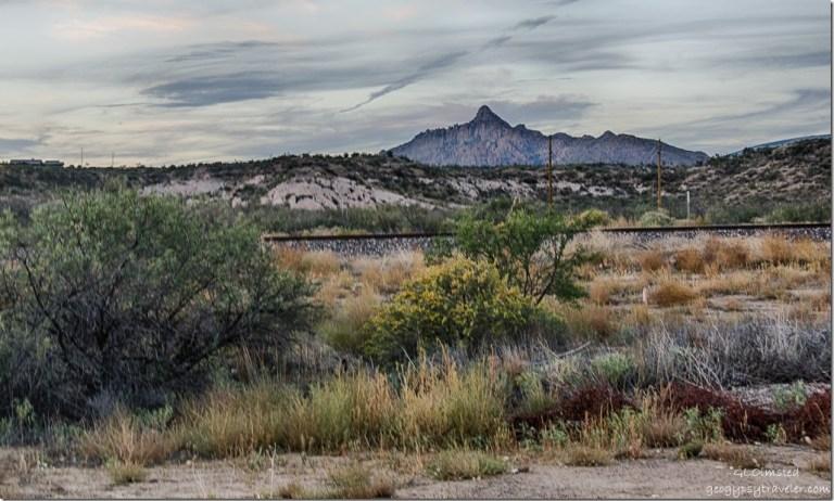 RV view North Martin Mountain Kirkland Arizona
