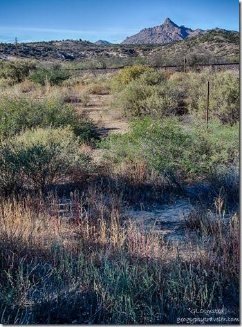 Martin Mountain from Kirkland RV Park Kirkland Arizona