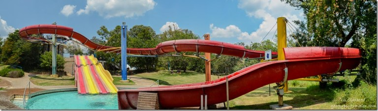 The slides Forever Resort Badplaas South Africa