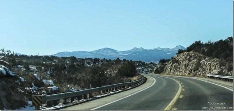 Brawdshaw Moountains SR89 South Arizona