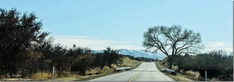 Snow Weaver Mountains Iron Springs Road Arizona