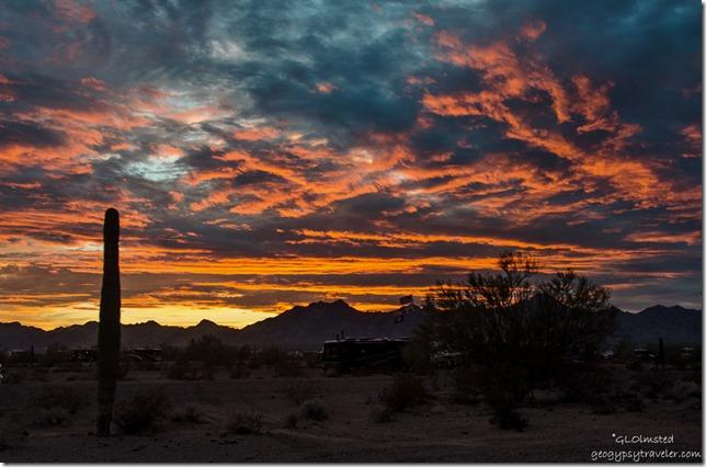 Sunset Quartzsite Arizona
