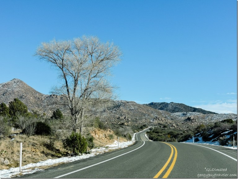 Iron Springs Road North Prescott National Forest Arizona