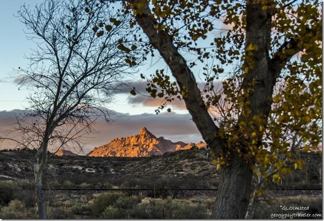 Last light Martin Mountain Kirkland Arizona