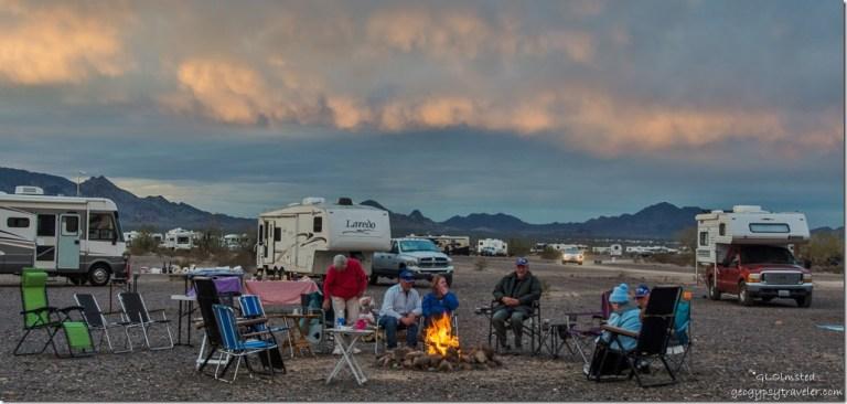 GCA gathering Quartzsite Arizona