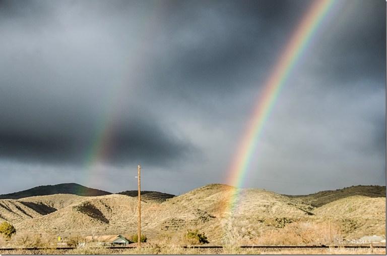 Double rainbow Kirkland Arizona
