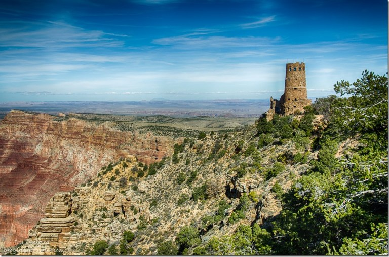 Desertview Watchtower South Rim Grand Canyon National Park Arizona