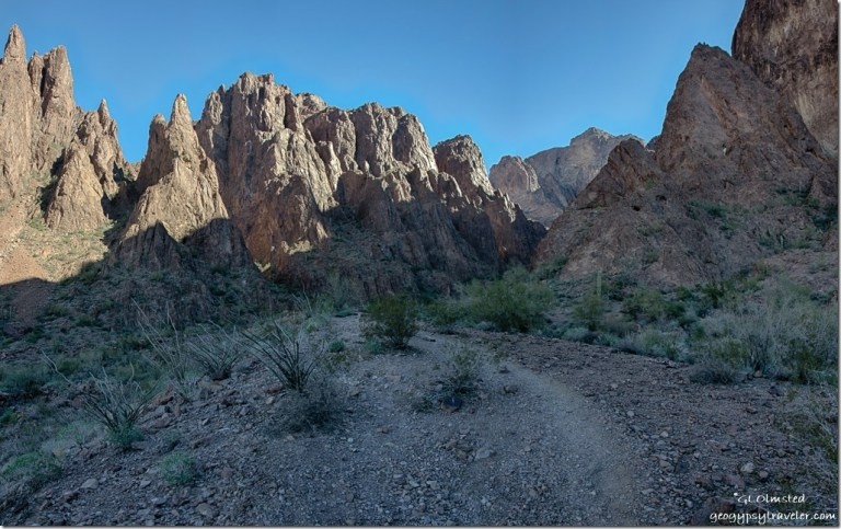 Palm Canyon trail Kofa National Wildlife Refuge Arizona